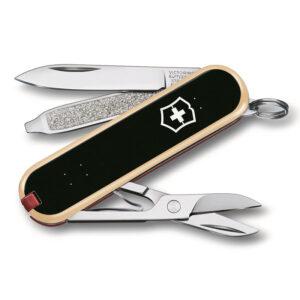 "Нож-брелок VICTORINOX Classic №0.6223.L2003 ""Skateboarding"", 58 мм, 7 функций"