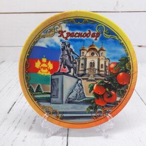 Тарелка мал. 12 см Памятник Казачеству Краснодар 46511