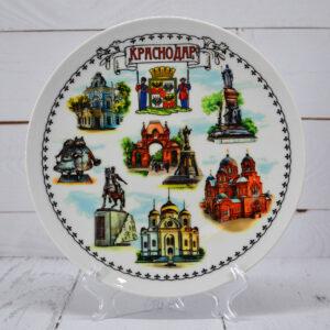 Тарелка Коллаж на белом фоне Краснодар 56484