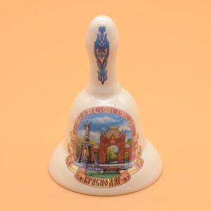 Колокольчик с ручкой Арка круглый бол. 45626
