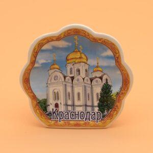 Подставка под зубочистки Краснодар собор А. Невского 45632