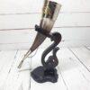 Рог для вина на подставке (ручная работа) 55689 92928