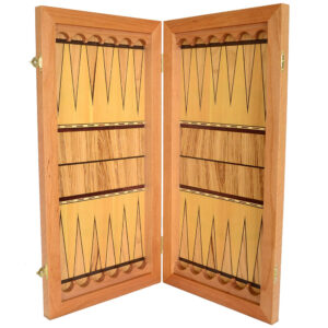 Нарды деревянные с клеткой и орнаментом 26615
