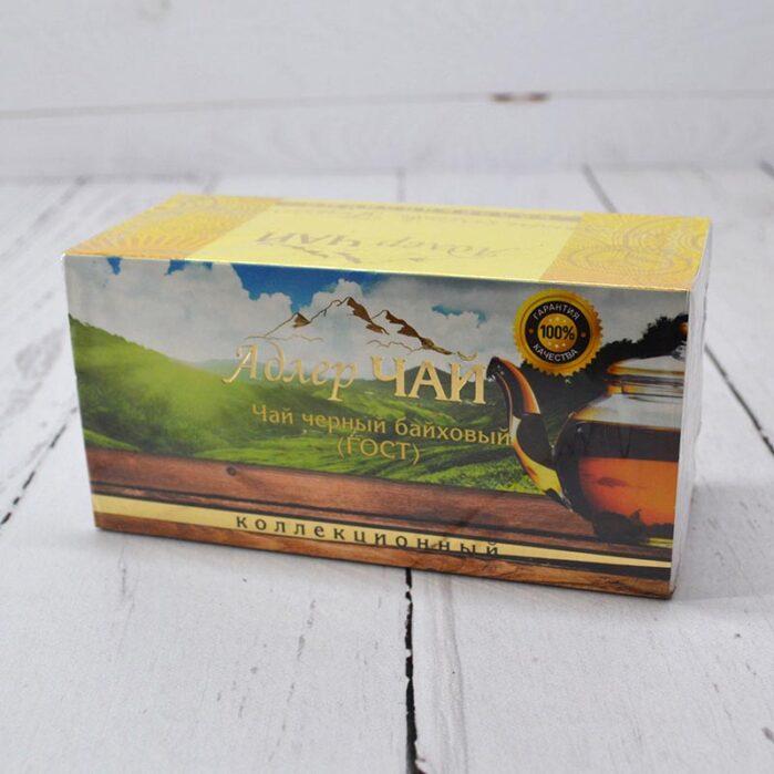Чай черный байховый 20 пакетиков 2 гр. 53222
