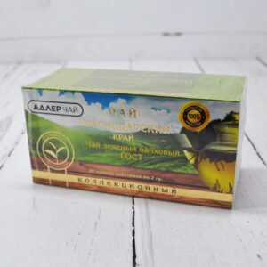 Чай зеленый байховый 20 пакетиков 2 гр. 53221