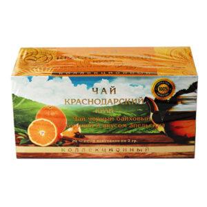 Чай черный с корицей и со вкусом апельсина 20 пакетиков 2 гр. 55256