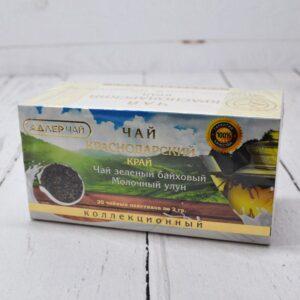Чай зеленый байховый Молочный улун Адлер Чай 20 пакетиков 57357