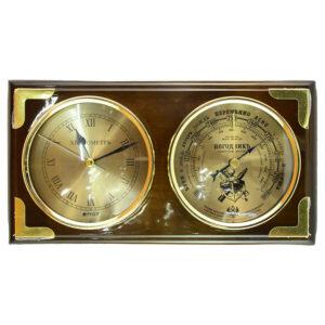 Барометр с часами 42298