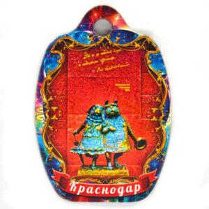 Магнит доска Краснодар Собачки 48012