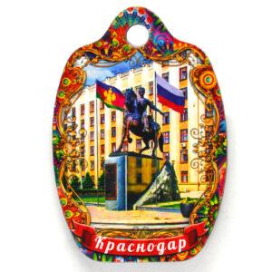 Магнит доска Краснодар Памятник Казачеству 48013