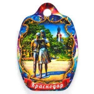 Магнит доска Краснодар Шурик и Лида 48016
