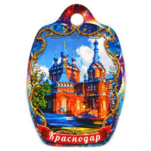 Магнит доска Краснодар Георгиевский храм 48017