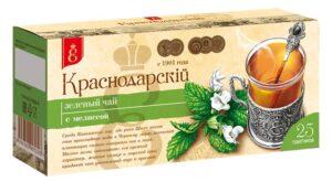 """Чай зеленый """"Краснодарскiй с 1901 года"""" с мелиссой 25шт. по 1,7г 49780"""