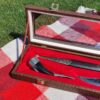 Набор кинжал, нож и рог 50778 92667