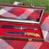 Набор кинжал, нож и рог 50778 92668