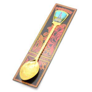Ложка Краснодар Екатерина 2 (золото) 46170