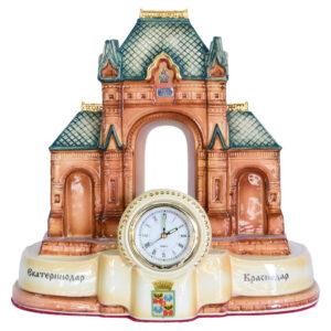 "Скульптура ""Триумфальная арка"" с часами 42127"
