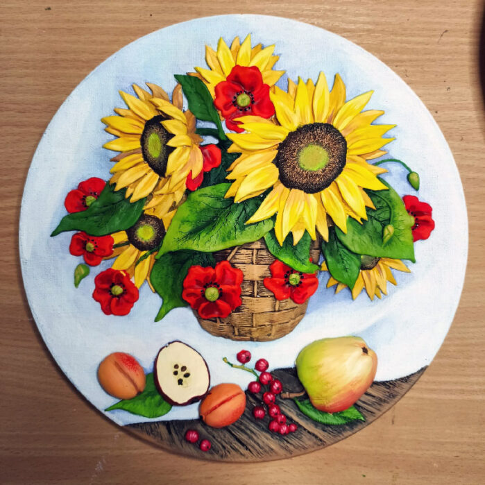 Тарелка натюрморт Кубань 57272