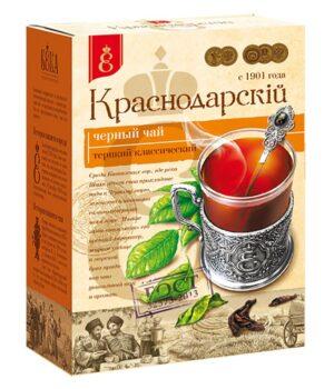 """Чай черный  """"Краснодарскiй с 1901 года"""" крупнолистовой 200 г. 49782"""
