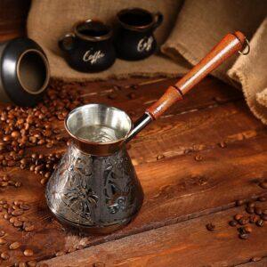 """Турка для кофе 600 мл """"Ромашка"""" 46256"""