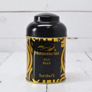 Чай чёрный байховый с добавлением зеленого чая Rich Black Мацеста чай 57363