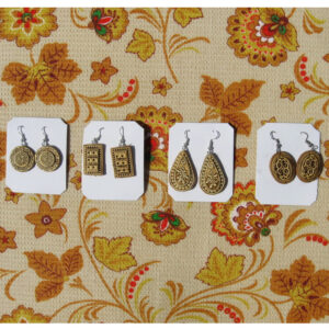 Сережки из бересты в ассортименте (береста) 56774