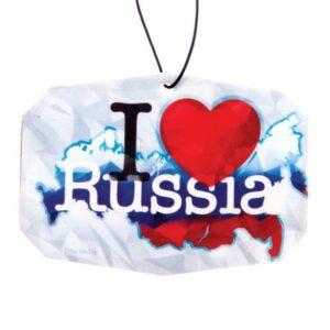 "Ароматизатор для авто ""I Love Russia"" 10778"