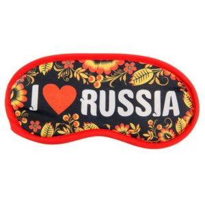 Маска для сна I Love Russia 16262