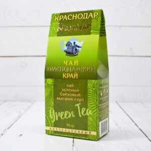 Чай зеленый байховый Краснодар 75 г. 54238