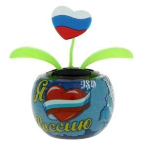 """Маятник в авто """"Я люблю Россию"""" 25752"""