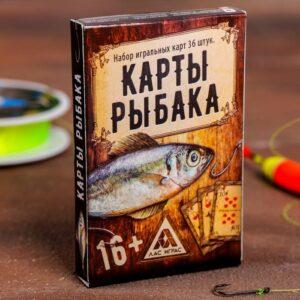 """Карты игральные """"Рыбалка"""" 49272"""