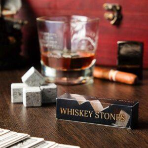 """Камни для виски """"Whiskey stones"""", 4 шт 48387"""