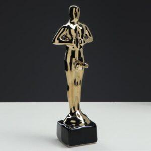 """Статуэтка """"Оскар-самец"""", покрытие булат, под нанесение, 25 см 55548"""