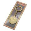 Брелок Кубань Казачка с Казаком на коне (монета) бронза 46946