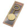 Брелок Кубань Казачка с Казаком на коне (монета) бронза 46946 56957