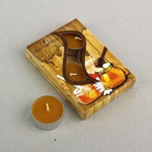 Свеча ароматизированная 12 г, Мед 41501