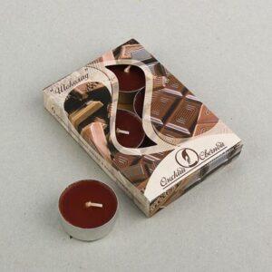 Свеча ароматизированная 12 г, Шоколад 34196