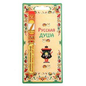 """Ручка на открытке """"Мой друг, отчизне посвятим... А. С. Пушкин"""" 42404"""