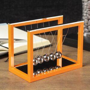 Маятник Ньютона на прямоугольной зеркальной подставке 55550