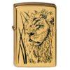 Зажигалка Zippo (зиппо) №204B Proud Lion