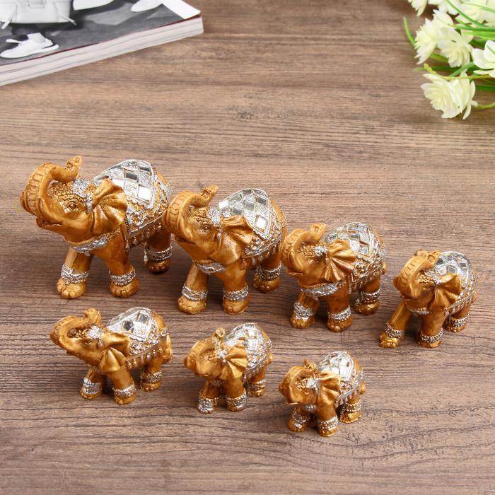 "Набор 7 шт ""Семейство слонов"" 55964"