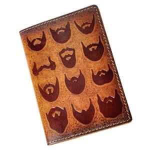 """Обложка на паспорт """"Борода""""  45539"""