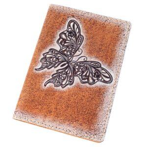 "Обложка на паспорт ""Бабочка"" 45183"