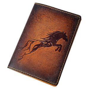 """Обложка на паспорт """"Огненный конь"""" 45557"""