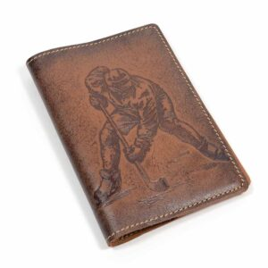 "Обложка на паспорт ""Хоккей"" 45196"