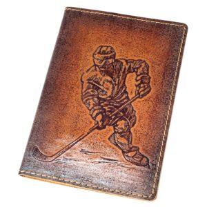 "Обложка на паспорт ""Хоккей"" 48070"