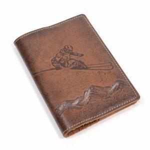 """Обложка на паспорт """"Лыжник"""" 45197"""
