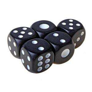 Кубики игральные 1,4 × 1,4 см 49275