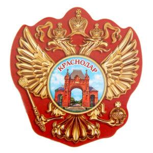 """Магнит в форме герба """"Краснодар"""" 22376"""