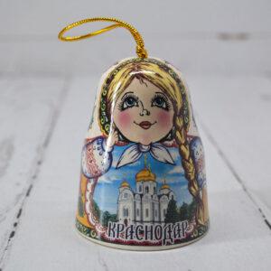 Колокольчик Краснодар Матрешка 55790